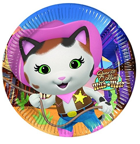 Sheriff Callie Small Plates (Sheriff Callie Birthday Party)