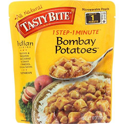 Tasty Bite Entree - Indian Cuisine - Bombay Potatoes - 10 oz - case of 6 - Gluten Free -