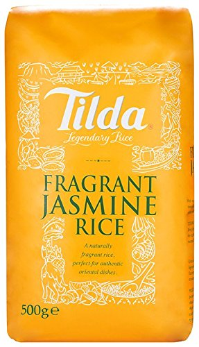 Tilda Thai Jasmine Rice 500 g (Pack of 5) by GroceryLand