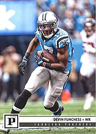 2018 Panini NFL Football  46 Devin Funchess Carolina Panthers Official  Trading Card 5b48cc130