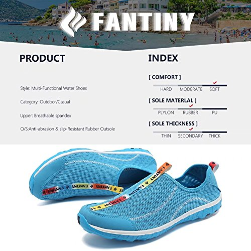 CIOR Fantiny Sneakers Athletic Men Drying Water blue Shoes Aqua Women Y On Quick Sport Slip rpTdaxrq
