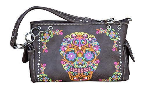 Womens Concealed Carry Purse With Sugar Skull