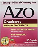 AZO Cranberry for Healthy Urinary Tract with Immune Boosting Probiotic & Vitamin C – 50 Tab For Sale