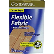 Good Sense Fabric Assorted 30 Count Bandages Case Pack 24