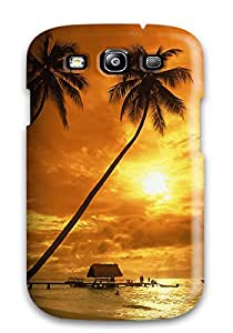 4418840K43147366 New Fashion Premium Tpu Case Cover For Galaxy S3 - Pigeon Point At Sunset