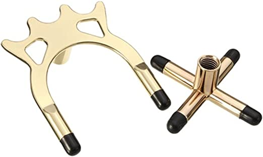 2 soportes para palos de billar de Snooker de metal chapado en ...