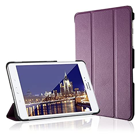 Galaxy Tab A 8.0 Case, JETech Slim-Fit Case Cover for Samsung Galaxy Tab A 8.0 inch Tablet with Auto Sleep/Wake Feature (Cover De Samsung Tab)