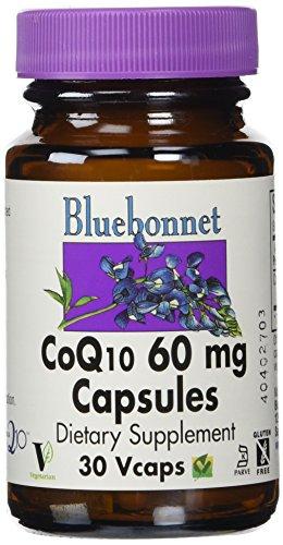 BlueBonnet CoQ 10 Vegetarian Capsules Count product image