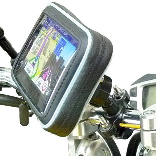 Waterproof Metal U-Bolt Motorcycle Mount for Garmin Nuvi 2519 2519LM 2519LMT (sku 31113) (Waterproof Garmin Gps Motorcycle)