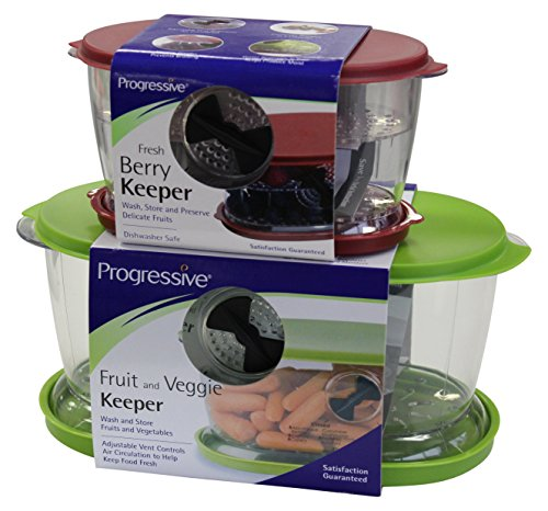 progressive 1 X Berry Fruit & Veggie Keeper Set ()