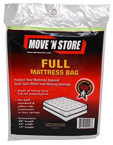 Plastic Full Mattress Cover (1 Bag ) - (Full Mattress Bag)