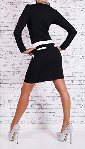 Coolred Womens Long Conjoin Dress Low out As Pocket Picture Sleeve Mid Color n1rRwxn