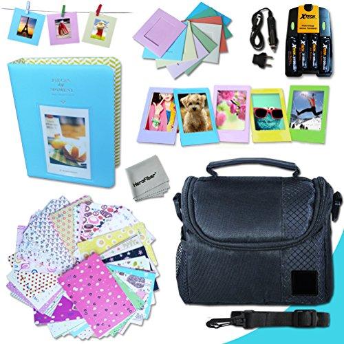 Xtech FujiFilm Instax Mini Accessories Kit f/ Fujifilm Instax Mini 8, Mini 8 N, Mini8 Mini 8 Grape, Mini 8 Pink, Mini 8 Blue, Mini 8 Cream, Mini 8 white, Mini 8 Red Mini 7, Mini 7s, Mini 90, Mini 50s (Fujifilm Instax Mini8 Grape compare prices)