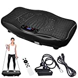 ReaseJoy Upgarded Body Vibration Power Plate Crazy Fitness Exercise Machine Oscillating Platform...