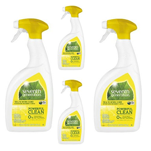Seventh Generation Tub and Tile Emerald Cypress and Fir, 32 Fluid Ounce (4 pack)