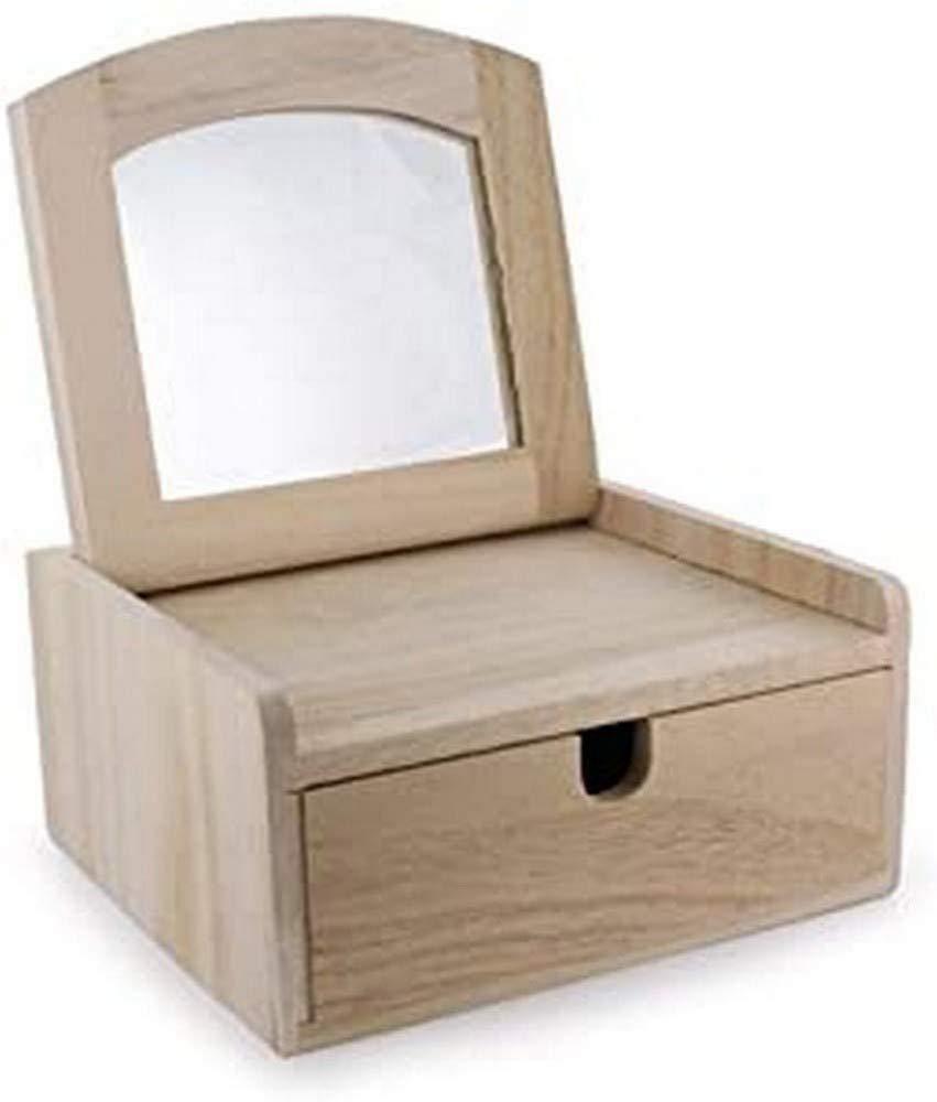 La Fourmi Jewellery Box 1 Drawer 160x150x80mm, Beige, standart