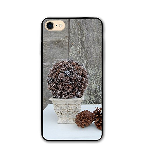 (JHXZML Pinecone Topiary IPhone 7/8/8S Case,imported PC Materials Full Protective Anti-Scratch Resistant Cover Case For Apple IPhone7/8/8S)