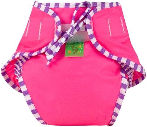 Kushies Reusable Swim Diaper Red Small