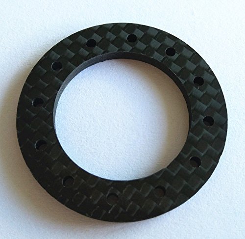 CrazyRacer Carbon Fibre Slipper Clutch Friction Pads (Thickness:3mm) for Traxxassss Revo Summit Slash 4X4 T-Maxx E-Maxx 5352 5352R