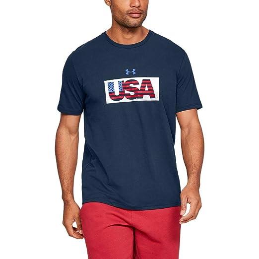 c640fca201 Under Armour Men's USA Flag Fill Short Sleeve Shirt