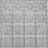 0604 Tin Ceiling Tile - Classic - PRINCESS VICTORIA - Tin Plated Steel Nail Up