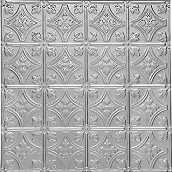 0604 Tin Ceiling Tile – Classic – PRINCESS VICTORIA – Tin Plated Steel Nail Up