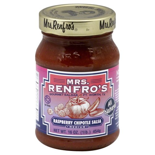 Mrs. Renfro's Salsa Chipotle Raspberry 16.0 OZ(Pack of 12) by Mrs. Renfro's