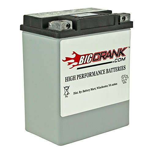 BatteryMart USA-Made Big Crank ETX15 AGM Maintenance Free Battery ()