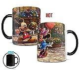 disney coffe maker - Morphing Mugs Thomas Kinkade Disney's Mickey and Minnie Mouse Sweetheart Cafe Heat Reveal Ceramic Coffee Mug - 11 Ounces