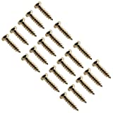 Seismic Audio - SAGA01-20Pack - Gold Replacement Screws for Fender, Gibson, Ibanez Guitar Tuners and Luthier Projects - 20 Pack