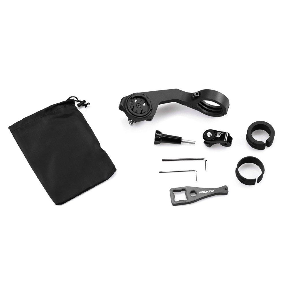 Lisibilité Holaca ordinateur support de fixation pour Garmin, Sports, kit de support pour Garmin Edge 2005005108008101000GPS (31,8/25.4mm) et GoPro/SJ Cam/Sony/Garmin Virb X et XE