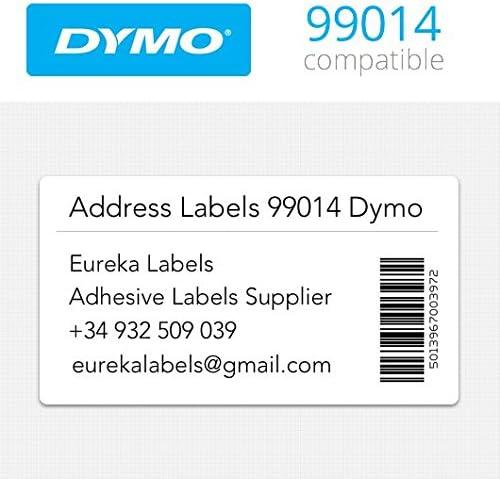 10 rollos de S0722430- 99014 Dymo etiquetas compatibles con ...