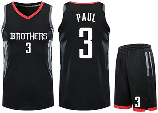 Jersey Denver Nuggets para Hombre - Chris Paul # 3 Houston Rockets ...