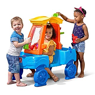 Step2 Car Wash Splash Center   Kids Outdoor Water Table Toy