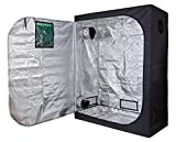 TopoLite 60''x32''x80'' 600D Grow Tent Dark Room Reflective Mylar Indoor Garden Growing Room Hydroponic System w/Observation Window (60''x32''x80'' w/window)