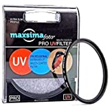 Maxsimafoto® - 52mm UV LENS Filter Protector for Panasonic Lumix DMC-G1, DMC-G2, DMC-G10, DMC, G3, GH2, GF2, GF3, G5 Cameras with 14-45mm, 14-42mm or 45-200mm lens, Good quality glass. Protect your lens! G1, G2, G3, G10, GH1, GH2, GH3, GF1, GF2, GF3.