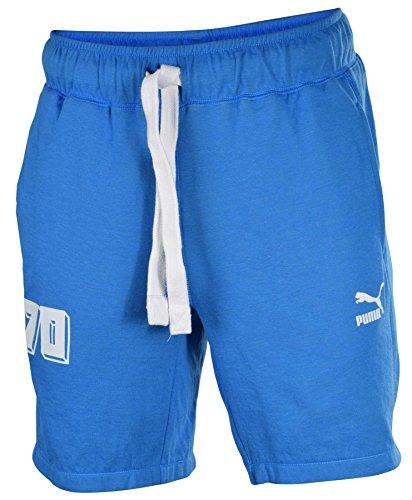 Puma Men's Brasil 70 Casual Shorts-Navy-Medium