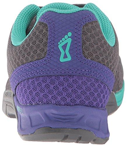 250 Femme Chaussures D'entranement F Fonc Pour lite Gris Violet Inov8 Turquoise ORIrqZR