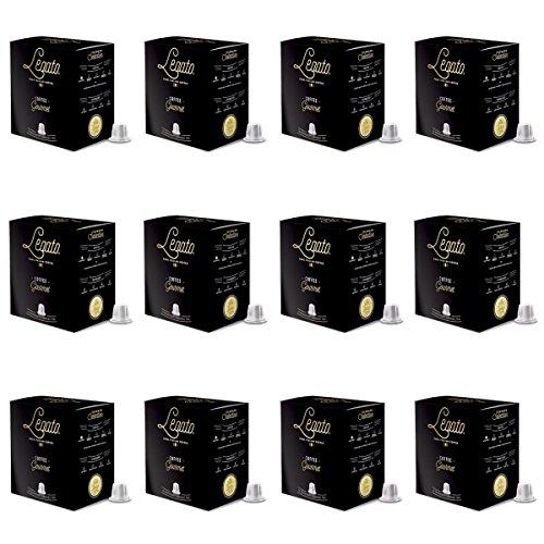 Legato Coffee Capsules - Nespresso Compatible - 120 Count (Gourmet)