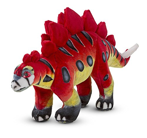 Melissa & Doug Plush Stuffed Dinosaur - Stegosaurus