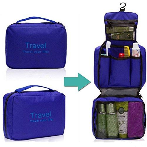 Greenery Spacious Multi-pocket Waterproof Travel Storage Bag