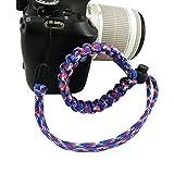 fibgihc 1pcs Chic Hand-made Parachute Rope Camera Wristband Review
