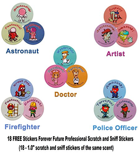 Signature Series 3 - Firefighter Stickers$3.99