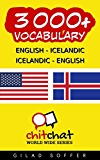 3000+ English - Icelandic Icelandic - English Vocabulary (ChitChat WorldWide)