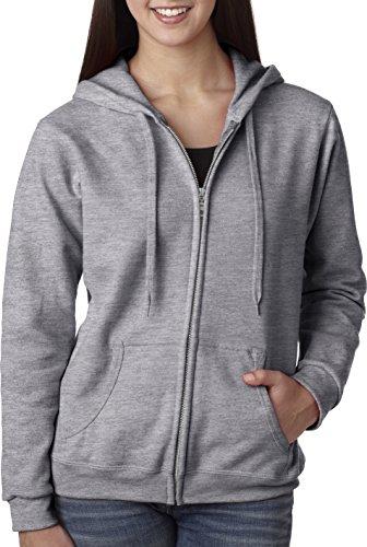 Gildan Womens Full Zip Hooded Sweatshirt product image