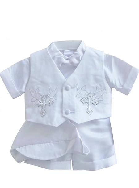 Amazon.com: Classykidzshop B4 - Disfraz de bautizo para niño ...
