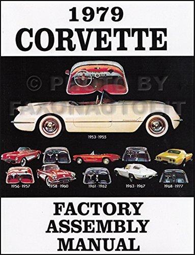 1979 Corvette Factory Assembly Manual Reprint