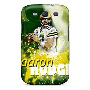Samsung Galaxy S3 UHW18139kWqe Custom Nice Green Bay Packers Skin High Quality Hard Phone Covers -ColtonMorrill