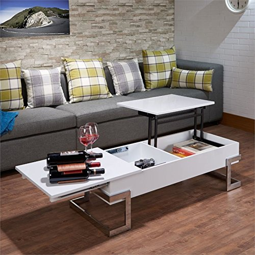 Acme Furniture 81850 Calnan Lift Top Coffee Table, One Size,