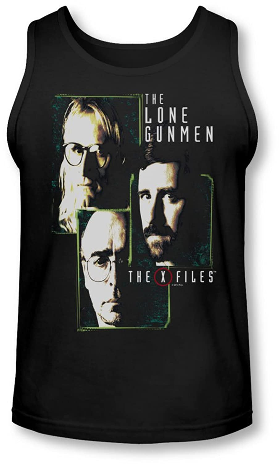 X-Files - Mens Lone Gunmen Tank-Top